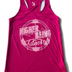 Pink Womans Tank Top