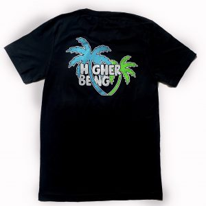 Higher Being Palm Tree T-Shirt